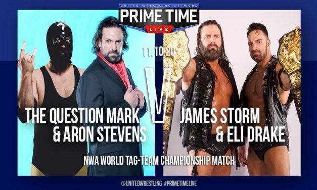 UWN PrimeTime Live:  A huge Question Mark in tag team action