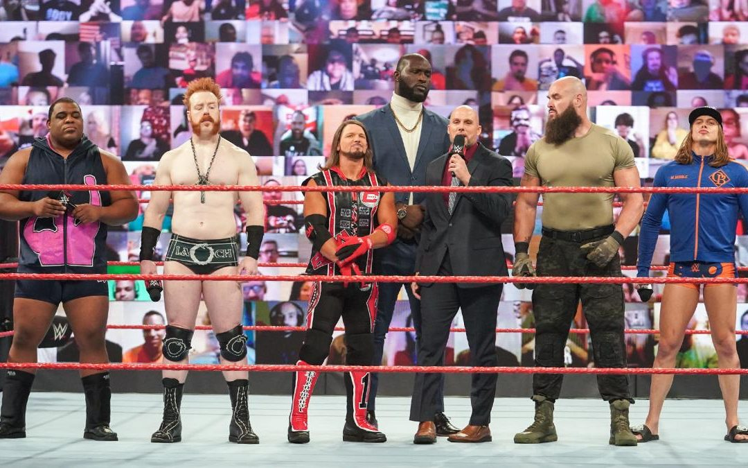 RAW: Former Survivor Series teammates face off for chance at WWE title