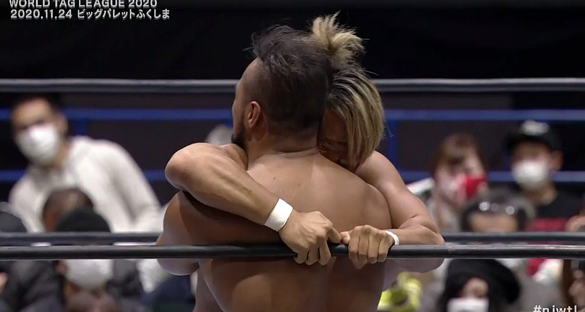 Los Ingobernables at the top of World Tag League