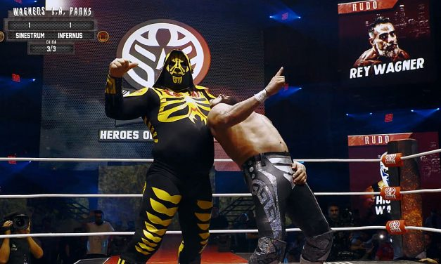 Crackle's 'Heroes of Lucha Libre' is high-flying fun