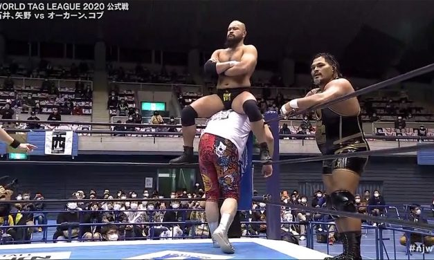 Chaos climbs back to the top of World Tag League