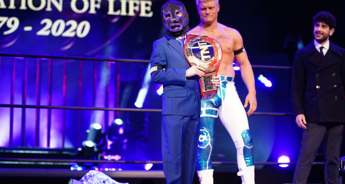 Gallery: AEW's Tribute to Brodie Lee