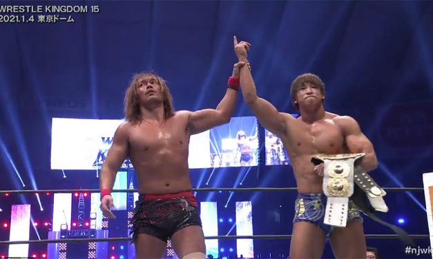 Ibushi becomes a double champion at Wrestle Kingdom