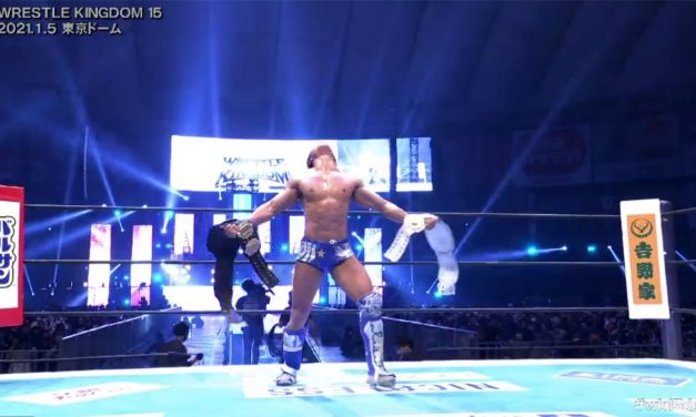 Ibushi retains after a 48 minute Wrestle Kingdom epic