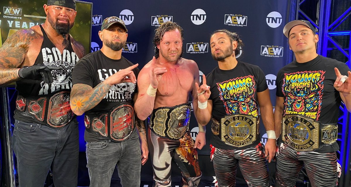 AEW Dynamite: The band gets back together on Night 1 of New Year's Smash