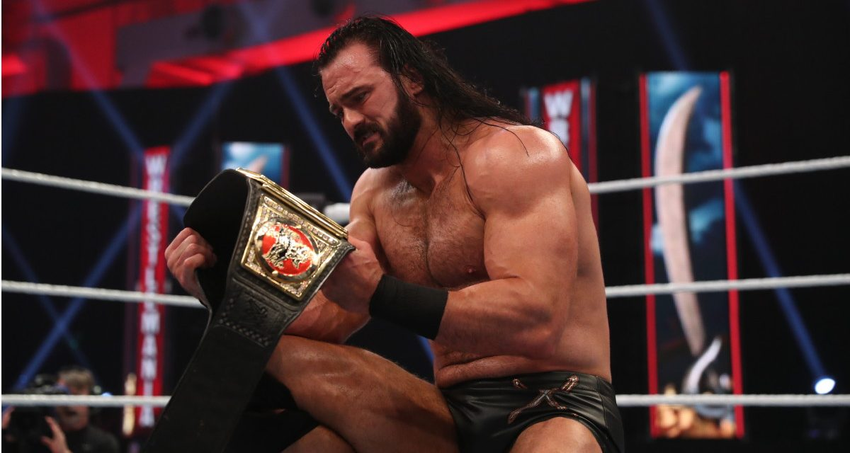 Drew McIntyre out with COVID-19