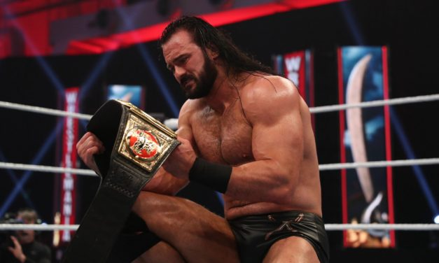 Drew McIntyre revels in championship win
