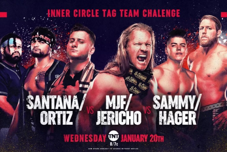 AEW Dynamite: The Inner Circle picks its tag team within the ropes