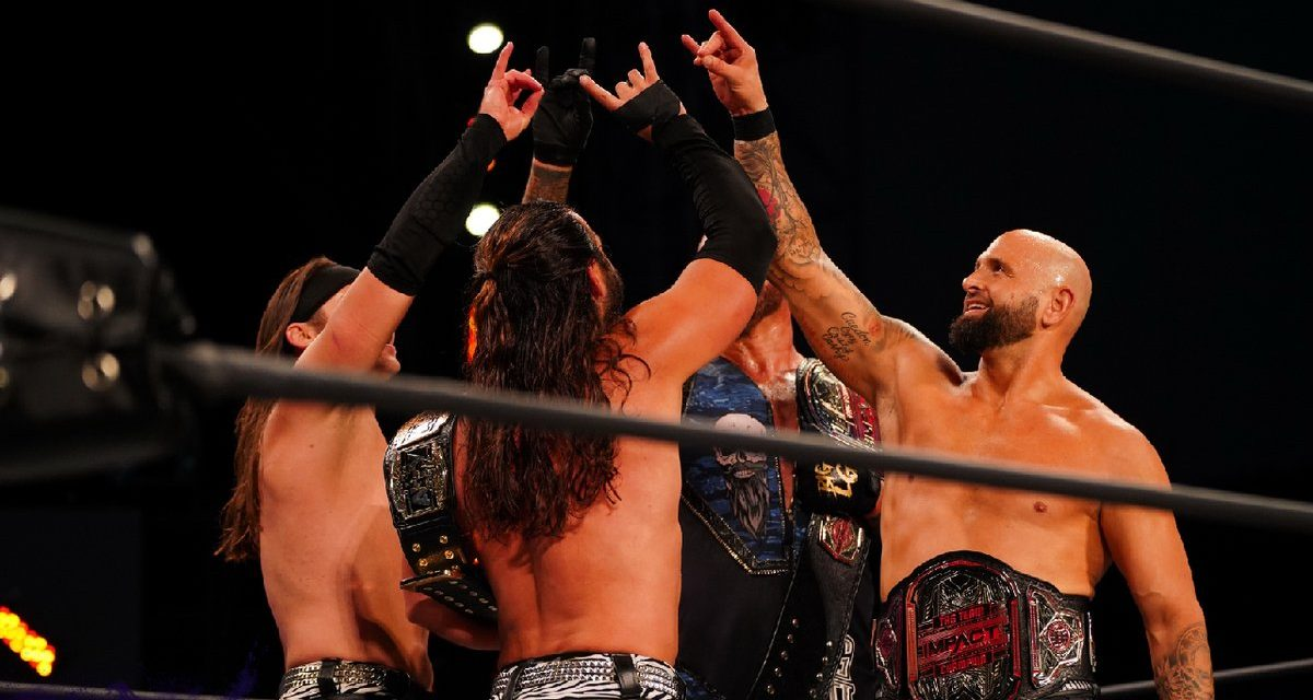 AEW Dynamite: Bucks, Good Brothers don't implode while facing the Dark Order