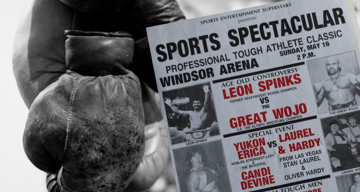 Leon Spinks' many wrestling connections