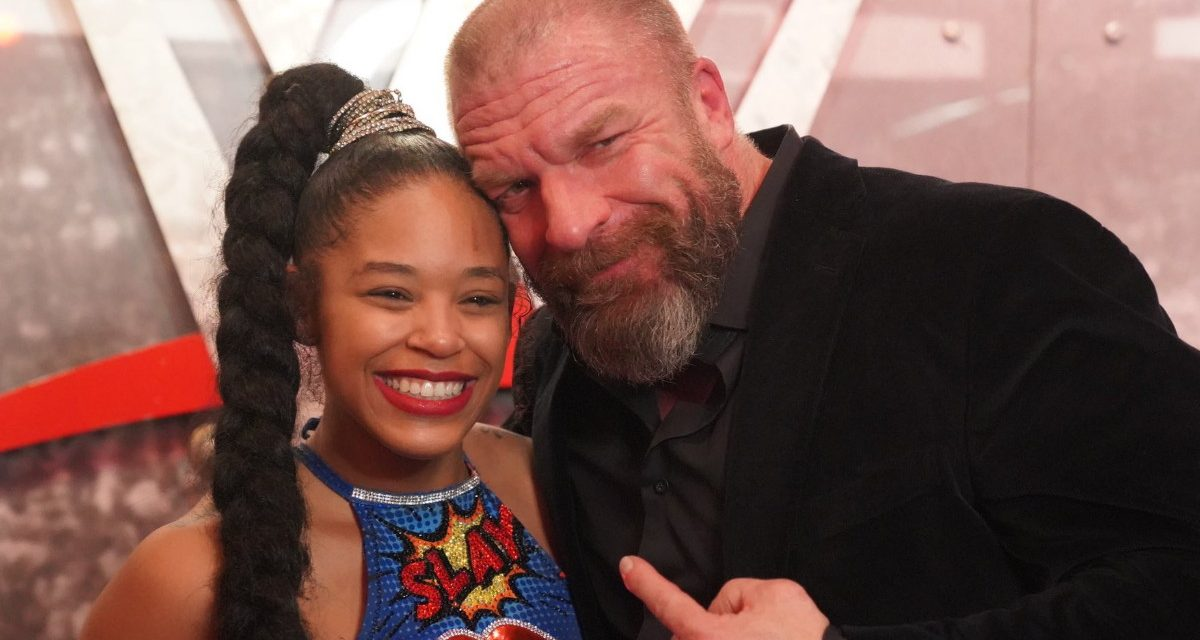 Triple H showers love on NXT's Vengeance Day