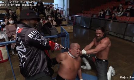 Bullet Club goes wild on Chaos