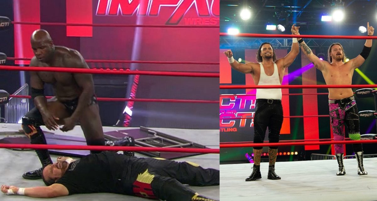 Impact: Moose goes old-school, but FinJuice and the Good Brothers bring up the past