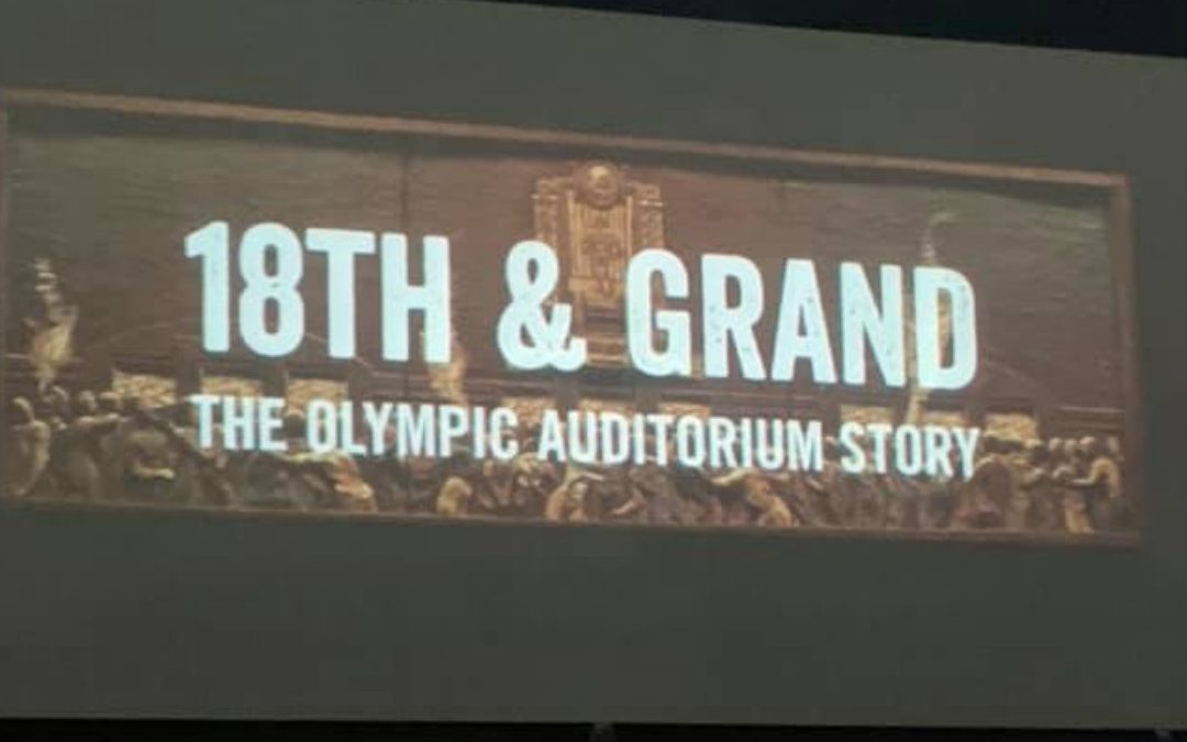Documentary review – 18th & Grand: The Olympic Auditorium Story