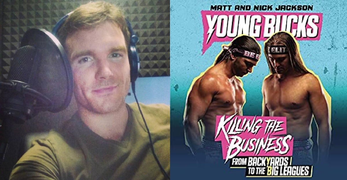 Actor Roger Wayne helps The Young Bucks find their voice