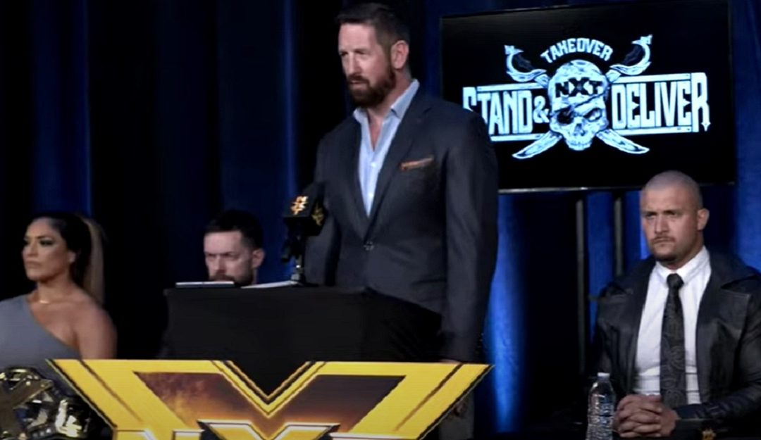 Lots of soundbites, little insights at NXT Takeover press conference