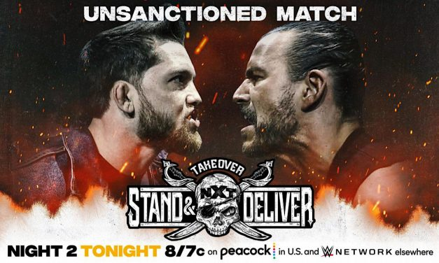 O'Reilly, Cole collide unsanctioned at NXT TakeOver: Stand & Deliver Night 2