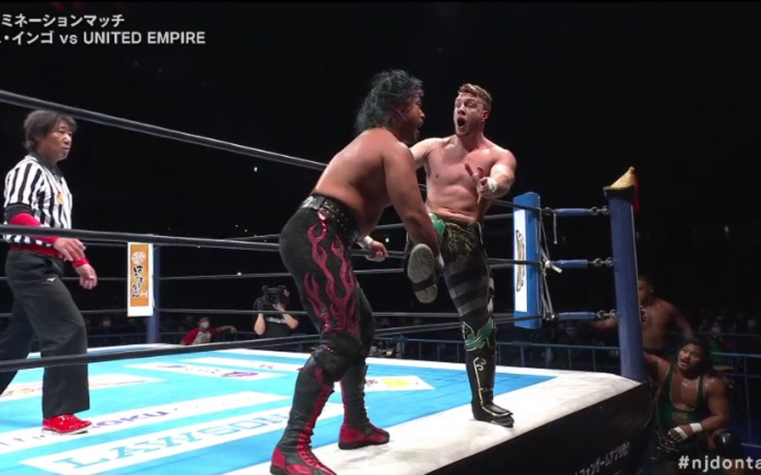 Shingo, Kenta survive Dontaku night one