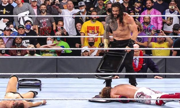 With help from his right-hand man, Reigns reigns over WrestleMania 2021 Night 2