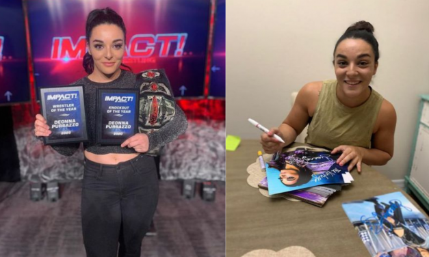 Behind the Gimmick Table: Impact's Deonna Purrazzo shares her merchandise magic