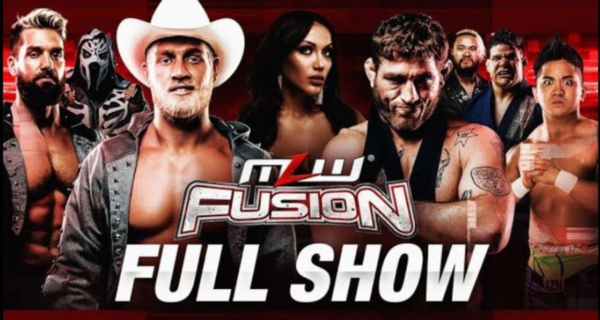 """MLW Fusion #130: """"Filthy"""" fight between Marshall Von Erich and Tom Lawlor"""