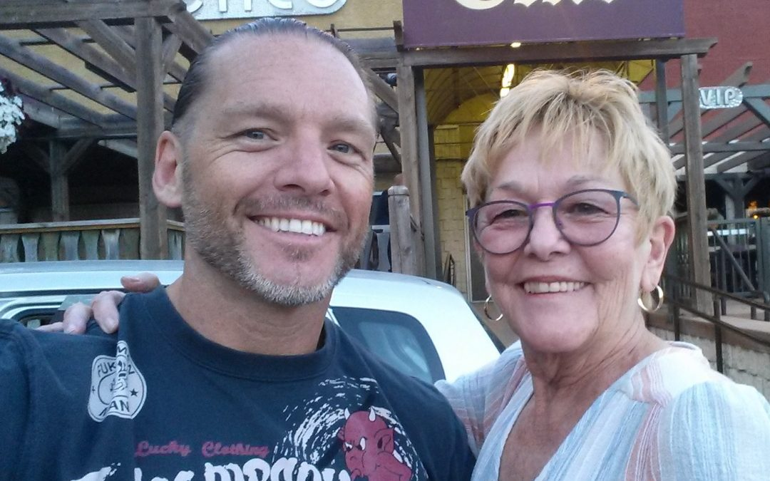 Behind the Gimmick Table: Before he was a 'Hotshot,' Johnny Devine was a mama's boy