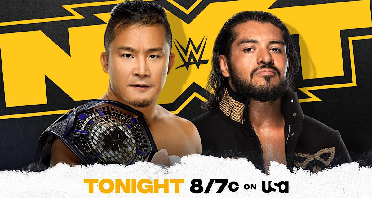 NXT: Kushida, Escobar main event in 2-out-of-3 Falls Match