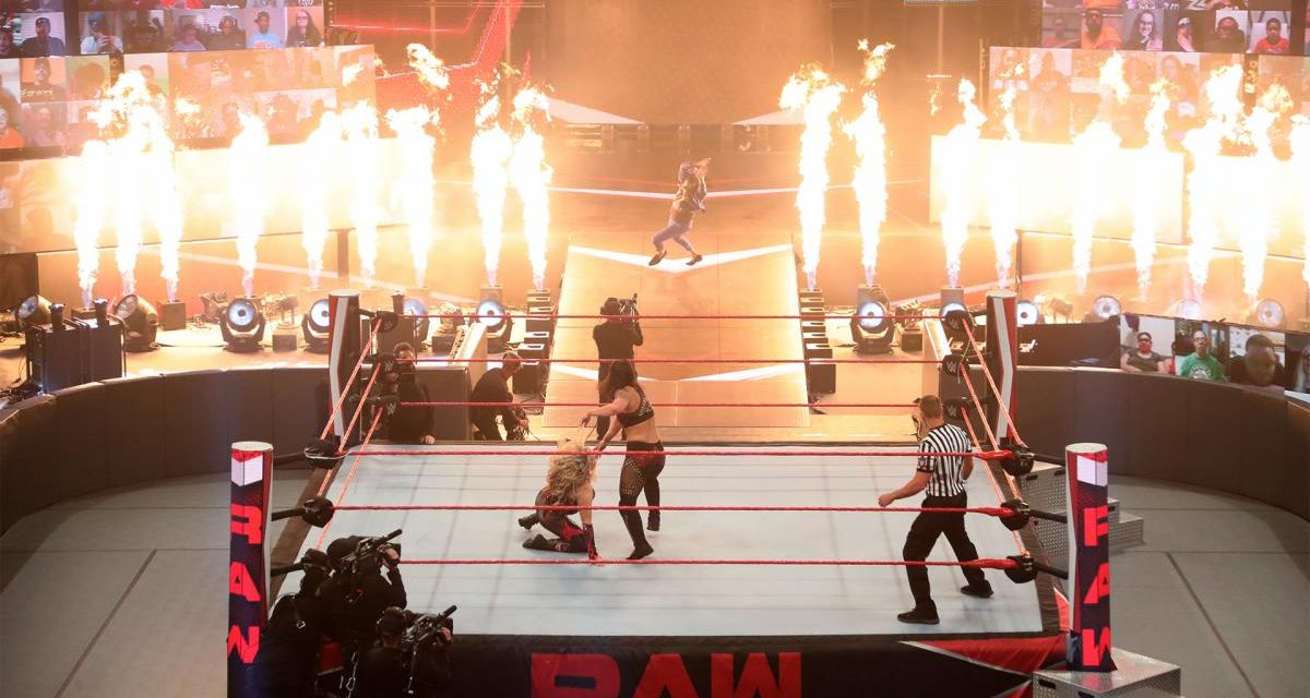 RAW: Natalya and Tamina retain tag team titles in fiery main event