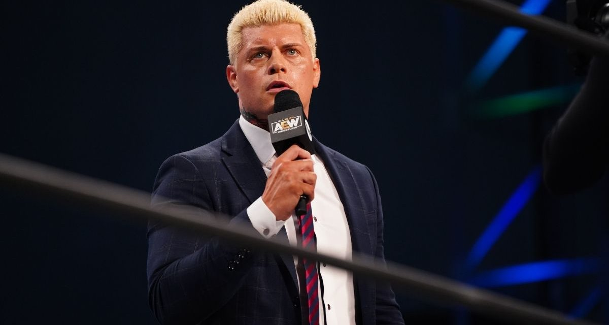 It's all a Ogogo for Cody at AEW Double or Nothing