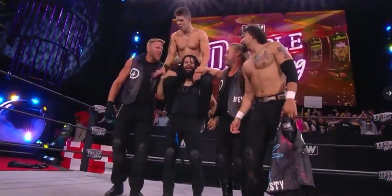 Return to a full house helps propel AEW Double or Nothing