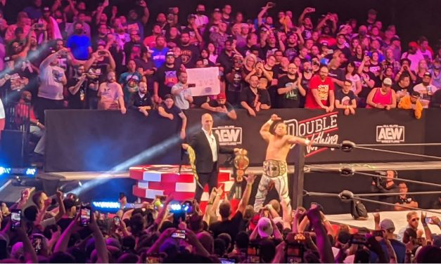 AEW wrestlers and fans welcome return to live crowds at Double or Nothing