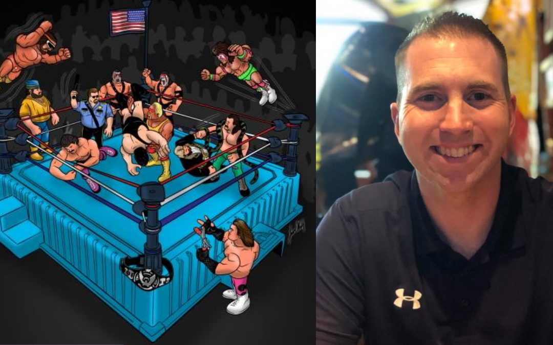 Behind the Gimmick Table: Grenville Nash's 'Hasbook' celebrates all things WWF Hasbro