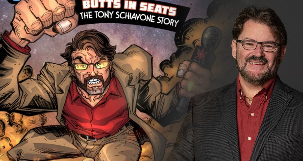 Behind the Gimmick Table: Schiavone comic book culmination of a long fandom