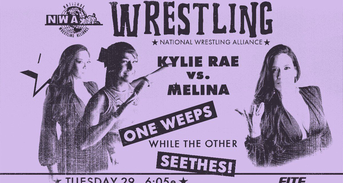 NWA POWERRR:  Is Kylie still smiley after facing Melina?