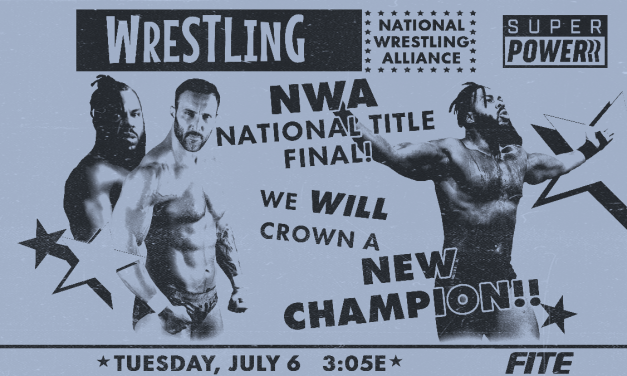 NWA POWERRR:  A Super-Powerrred match of National importance