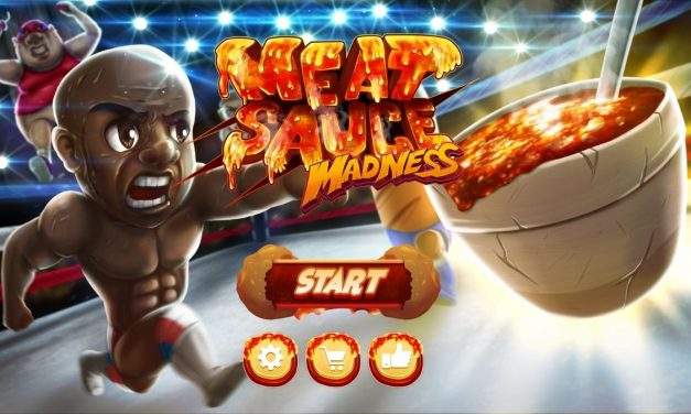 Virgil's new game, Meatsauce Madness, an ode to the Olive Garden