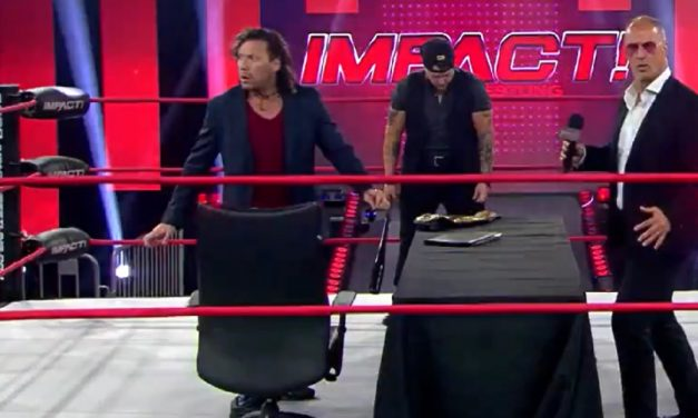 Impact: Omega plays mind games with Sami… and loses