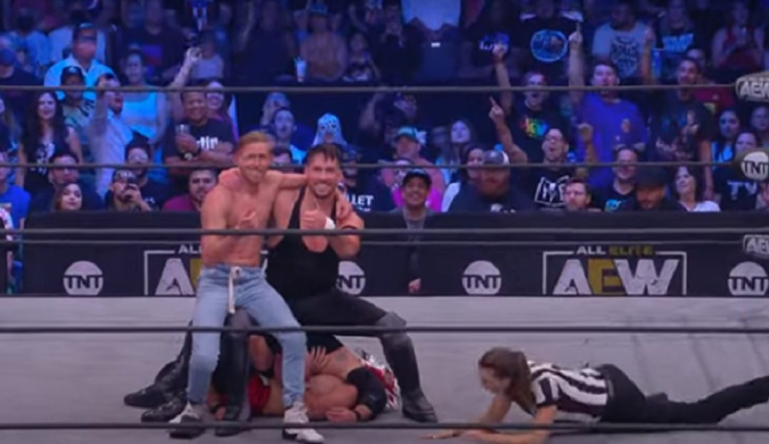 AEW Dark and Elevation: A Comedy Match and an Eight Man Tag