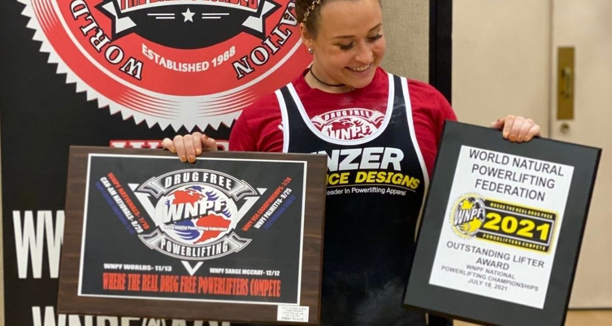 Jordynne Grace wins powerlifting competition