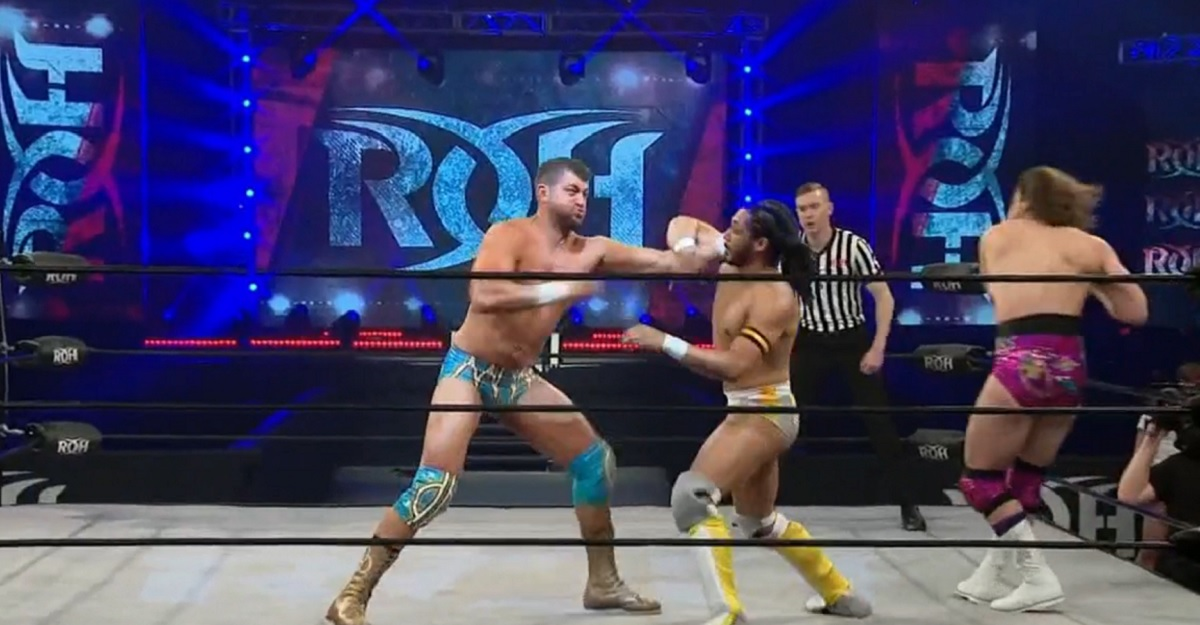 ROH: Triple threats, two heavyweights, but still no fans