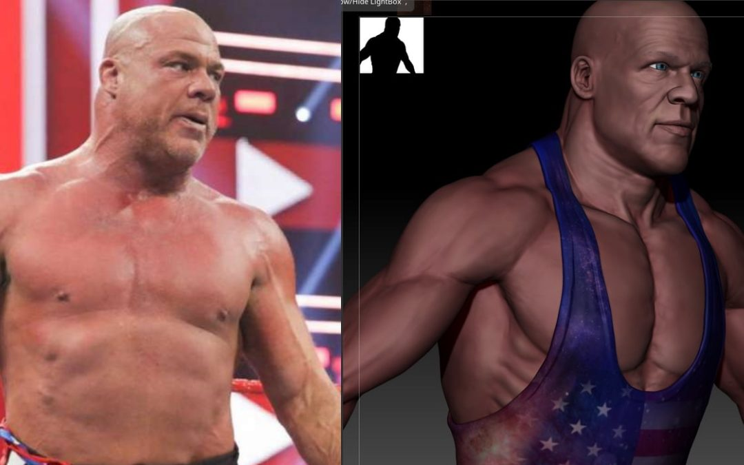 Behind the Gimmick Table: It's true! Kurt Angle has new NFTs!