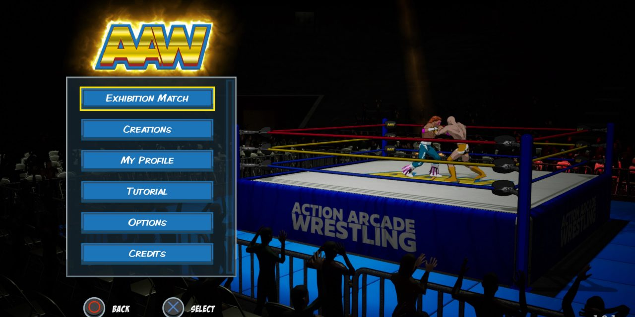 Action Arcade Wrestling Review: A feel good game with some limitations