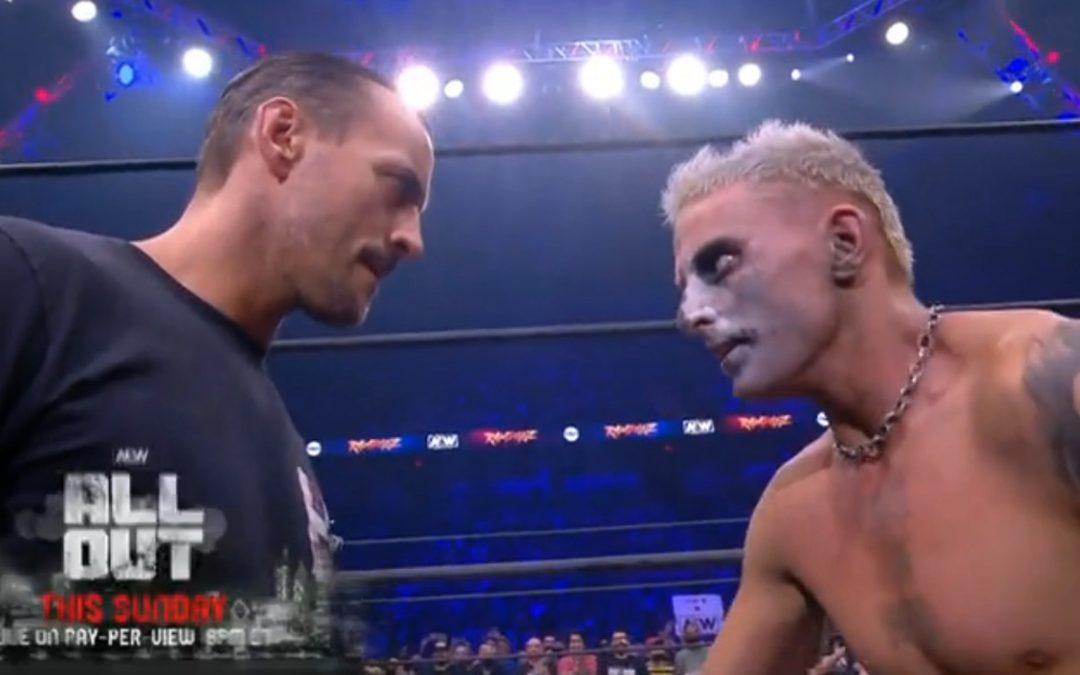 Punk and Allin come face to face on Rampage